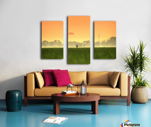 Glamorous  Canvas print
