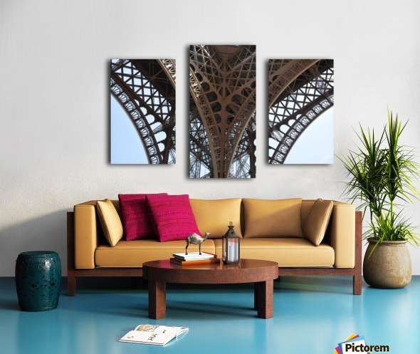 eiffel structure Canvas print
