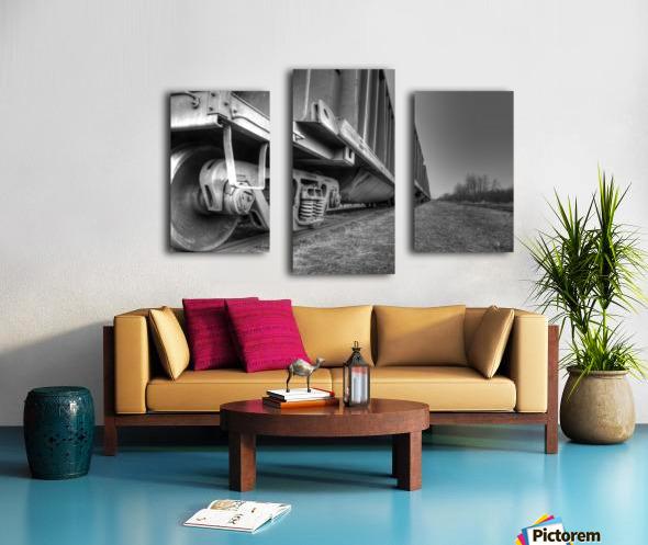 Rail Cars Canvas print