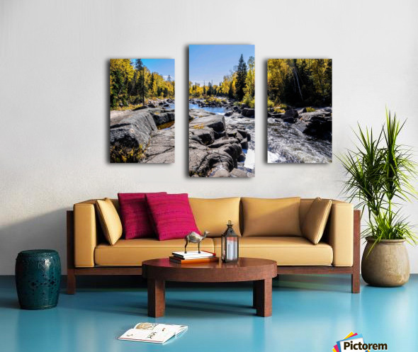 River Bed Canvas print