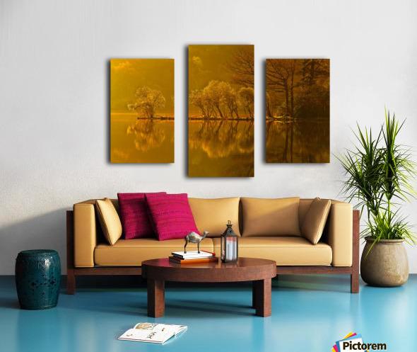 Gold Morning, Lake District, UK Canvas print