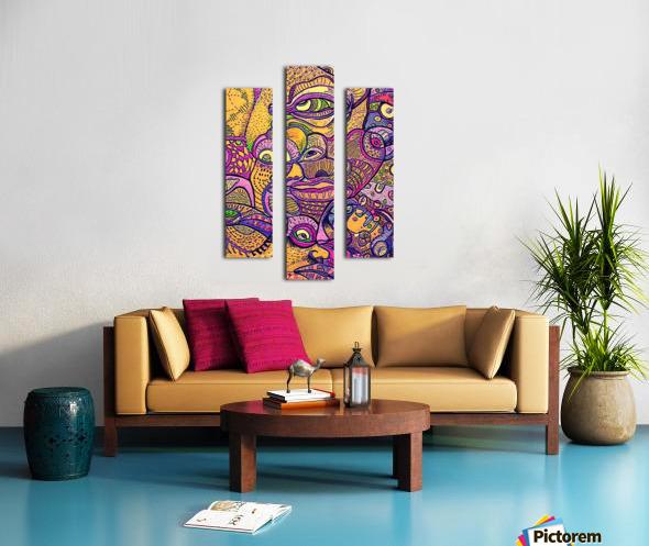 Loba Canvas print