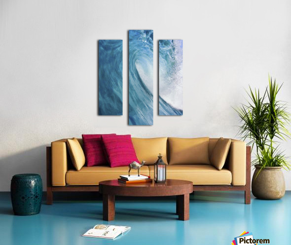 Blue Ocean Wave Canvas print