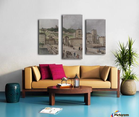 Le pont Tilsitt Canvas print