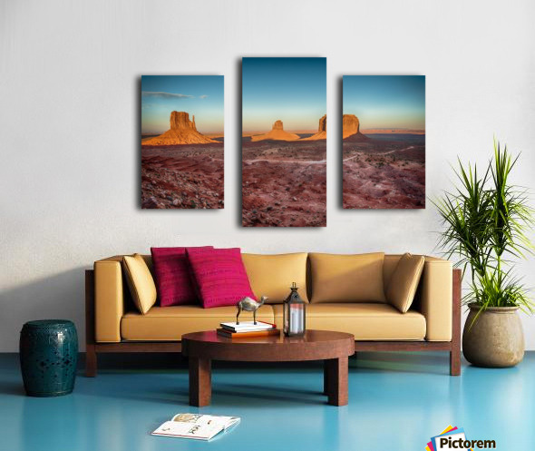 Monument Valley HDR (16 of 21) Canvas print