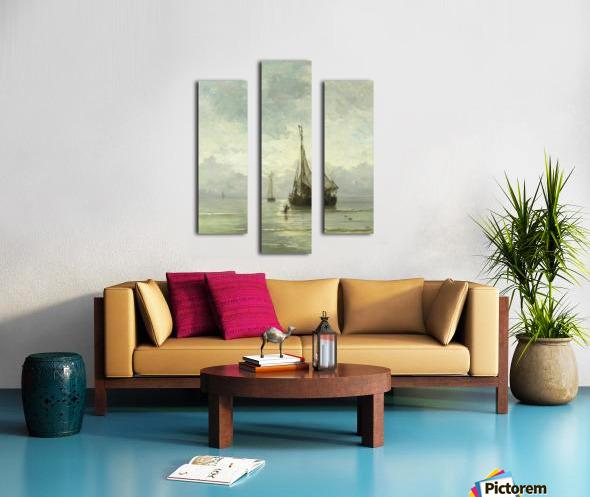 Kalme zee Canvas print