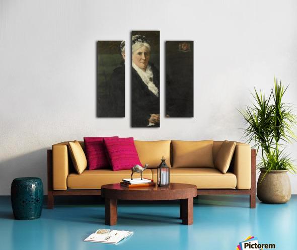 Maria Hermina Heemskerk Canvas print