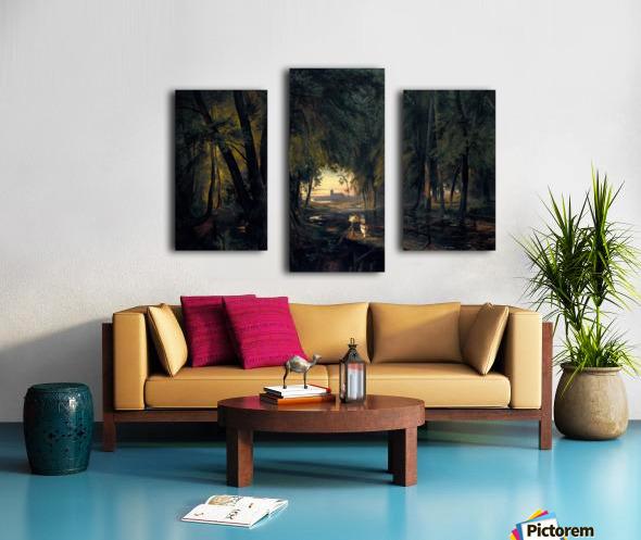 Alchetron Canvas print