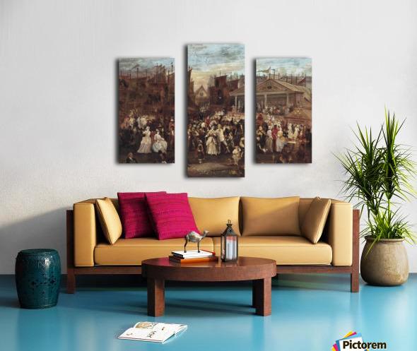Greenwich fair Canvas print