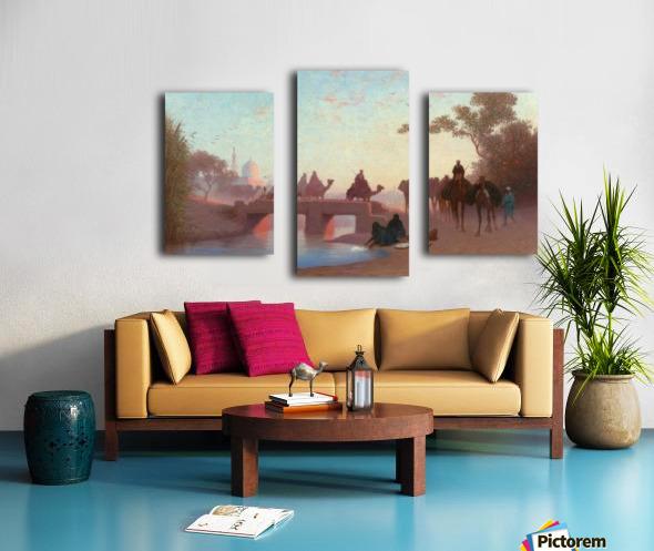 Environs du Caire Canvas print