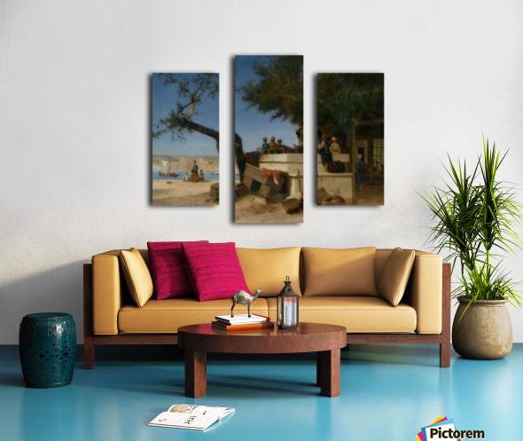 An Eastern Cafe Canvas print