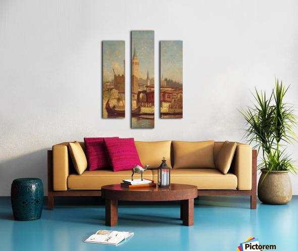 The Galata Tower, Constantinople Canvas print
