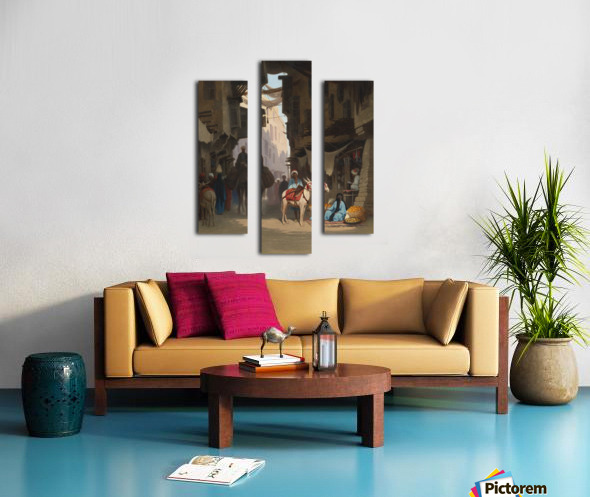 The Souk Canvas print