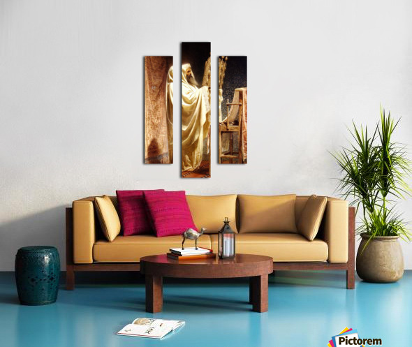 The High Priest of the Samarian Canvas print