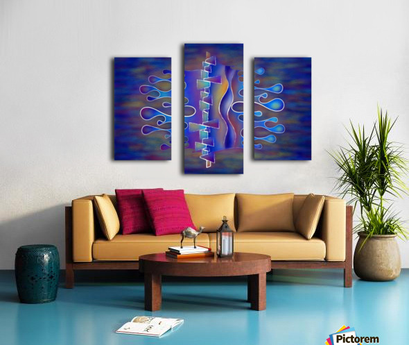 Grafenonci V5 - abstract butterfly Canvas print