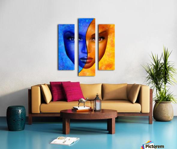 Frescanilla - the mirage Canvas print