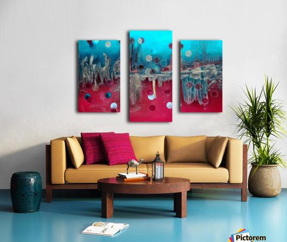 I feel the mood... Canvas print