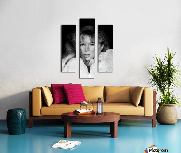 KIM BASINGER Canvas print