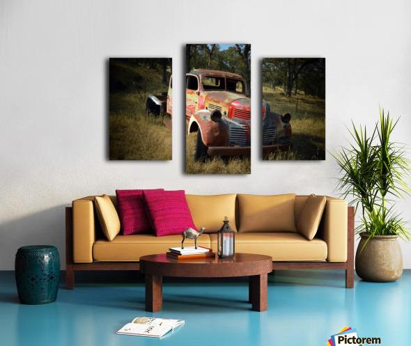Abandoned Dodge Truck Canvas print