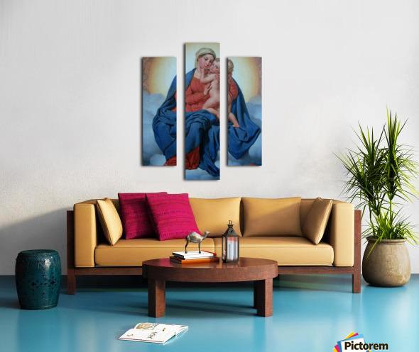 Maria med Jesusbarnet Canvas print