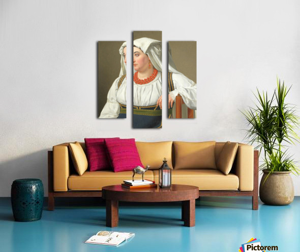 Una Ciociara Canvas print