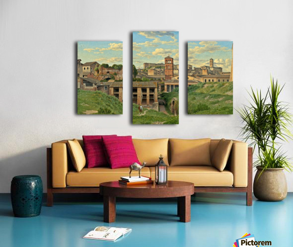 View of the Cloaca Maxima, Rome Canvas print