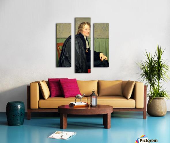 Portrait of Bertel Thorvaldsen Canvas print