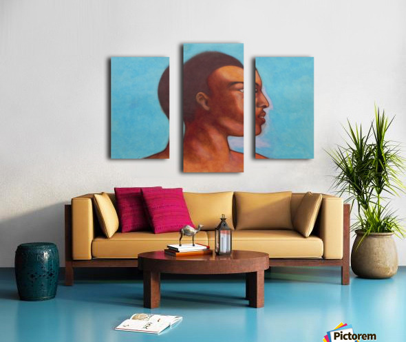 Khalid in Michelangelo mood Canvas print