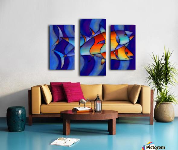 Cassanella - dream fish Canvas print