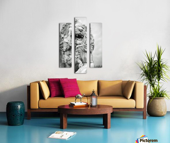 King of the Beast Canvas print