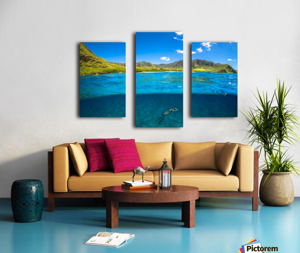 Makua Canvas print