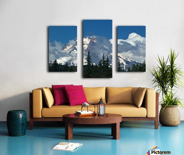 Clouded Peak-Mt Hood Canvas print
