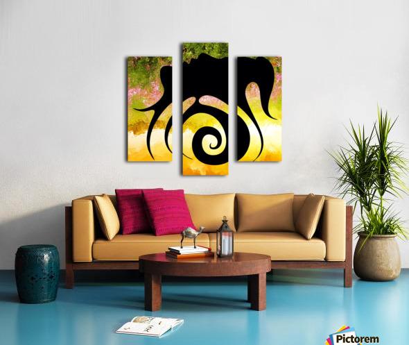 Miranillia - spring beauty Canvas print