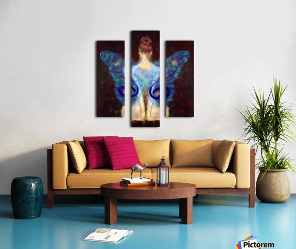 Elseminossa - butterfly beauty Canvas print