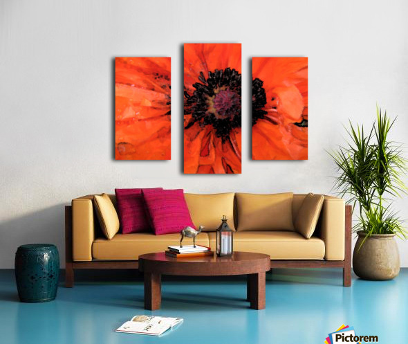 poppies will make you sleep Canvas print