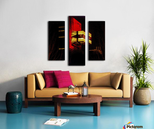 Night at the Guthrie Canvas print