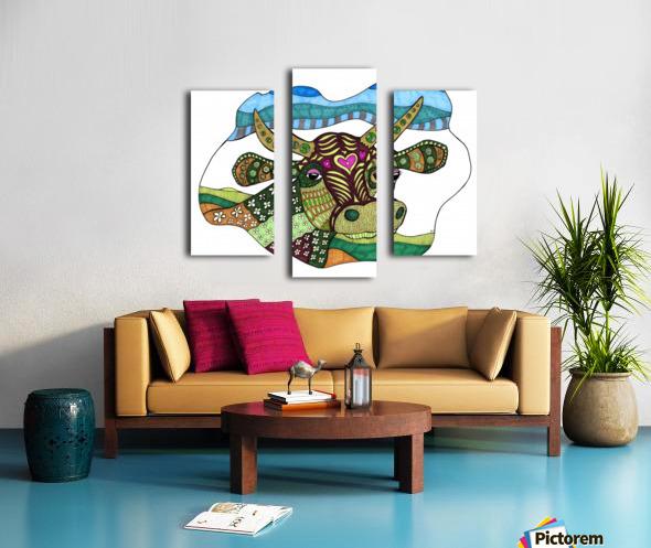 Elsie Cow Canvas print