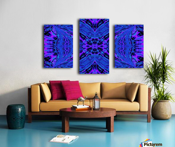 Butterfly in the Blue Canvas print