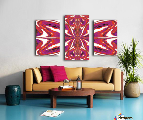 Butterfly of Pink Canvas print