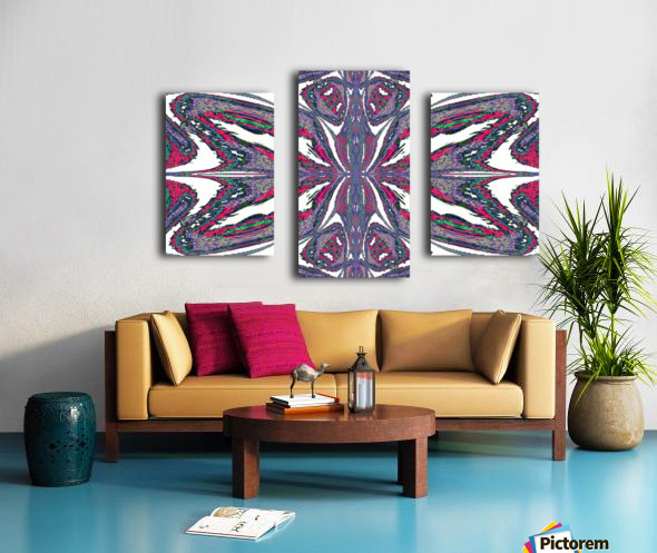 Butterfly of the East  Canvas print