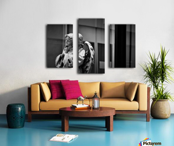 Angel in the Window Canvas print