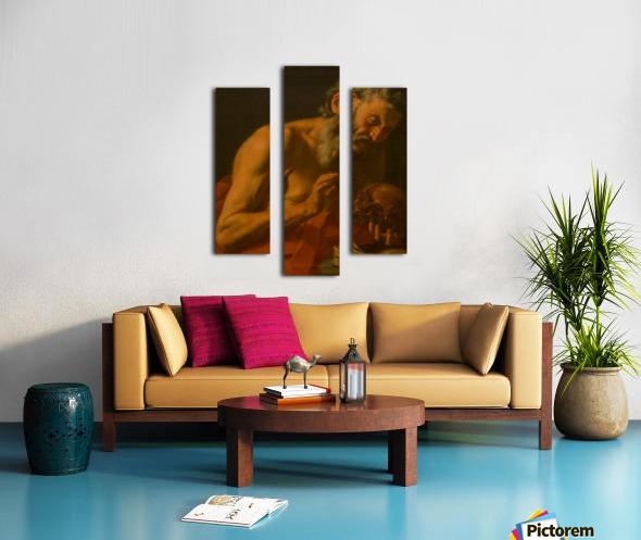 San Girolamo Impression sur toile