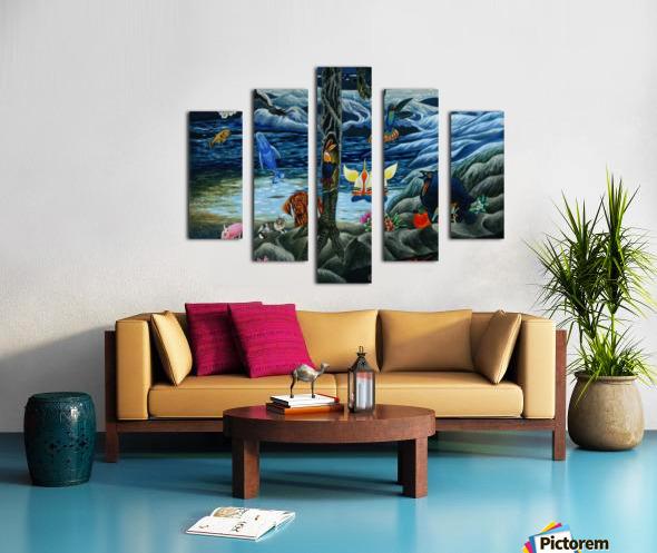 Impression sur toile