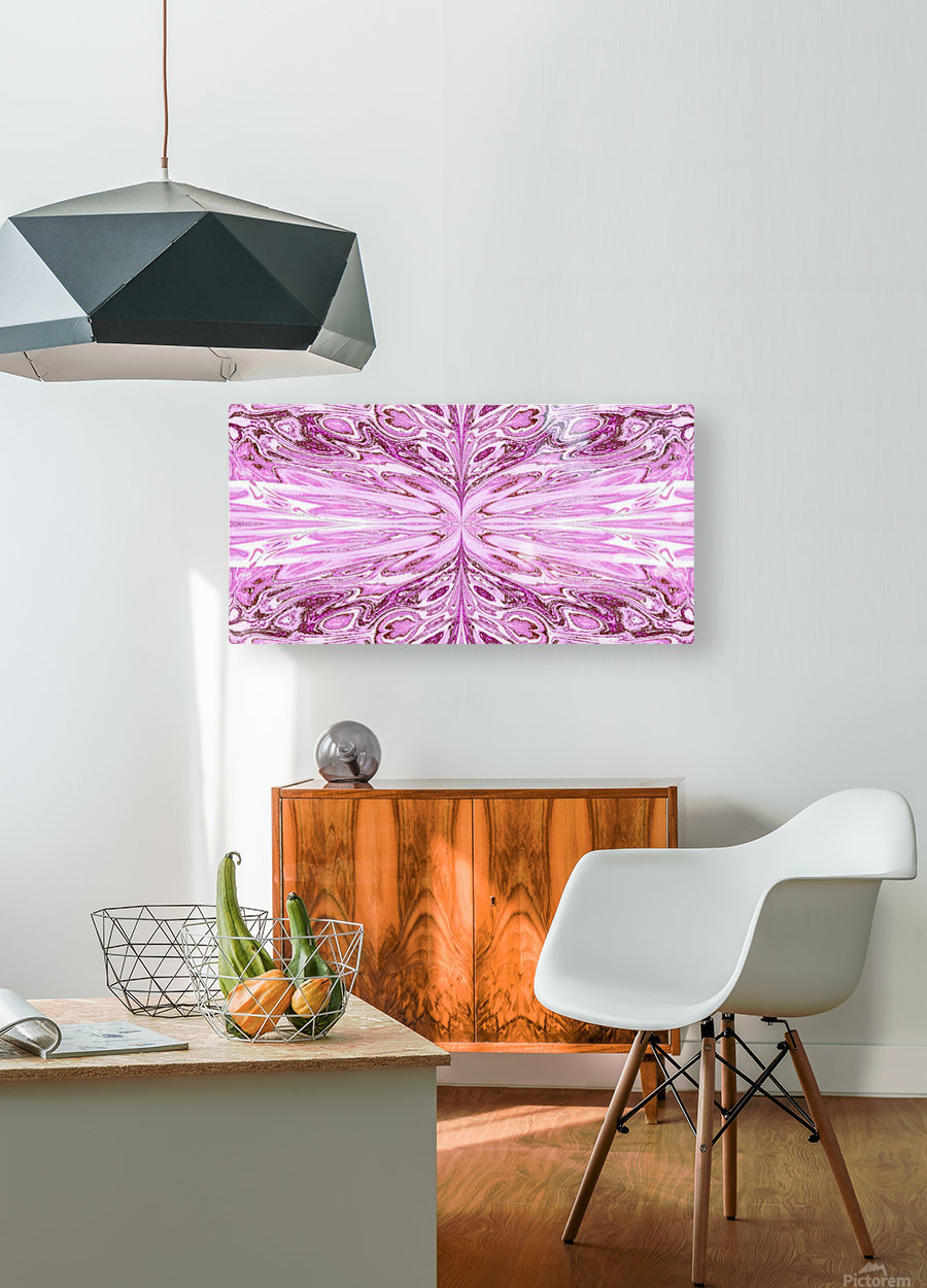 Queen of the Butterflies 48  HD Metal print with Floating Frame on Back