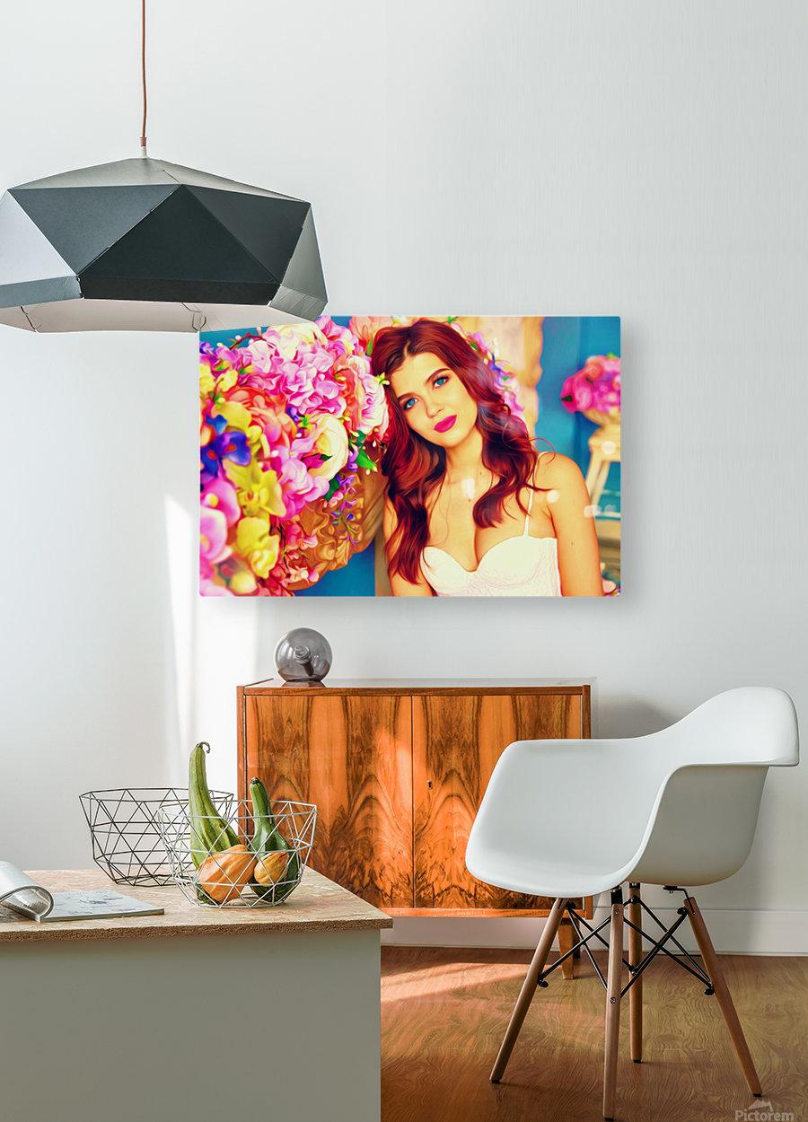 WeddingPic PicArt  HD Metal print with Floating Frame on Back
