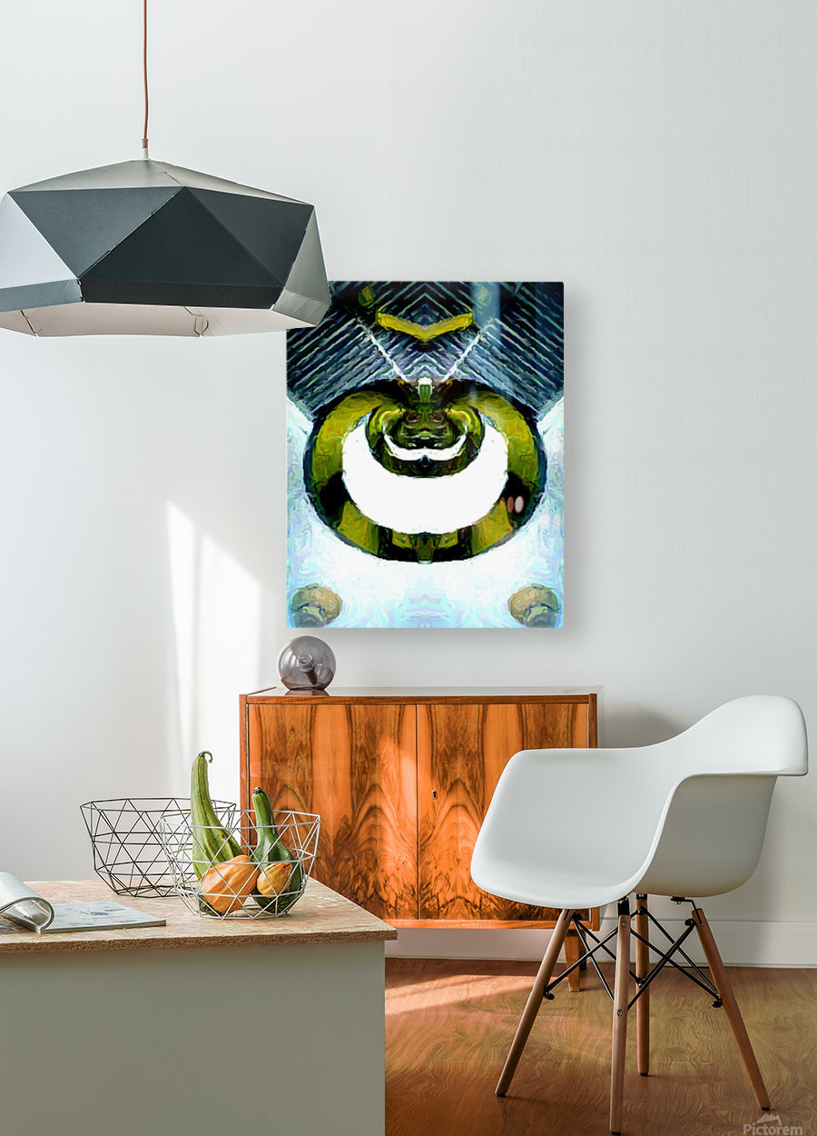 firserpent  HD Metal print with Floating Frame on Back