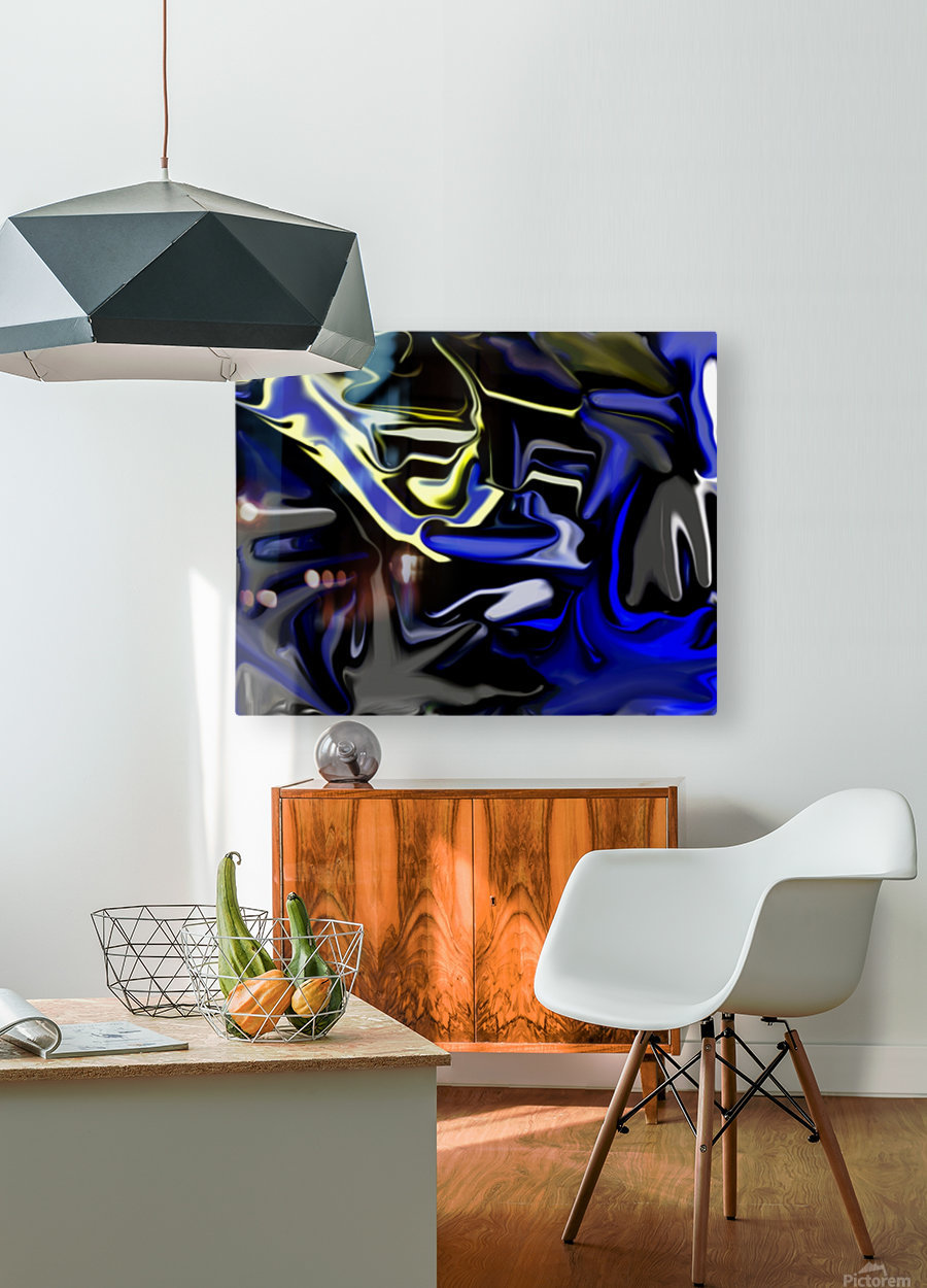 angelz3  HD Metal print with Floating Frame on Back