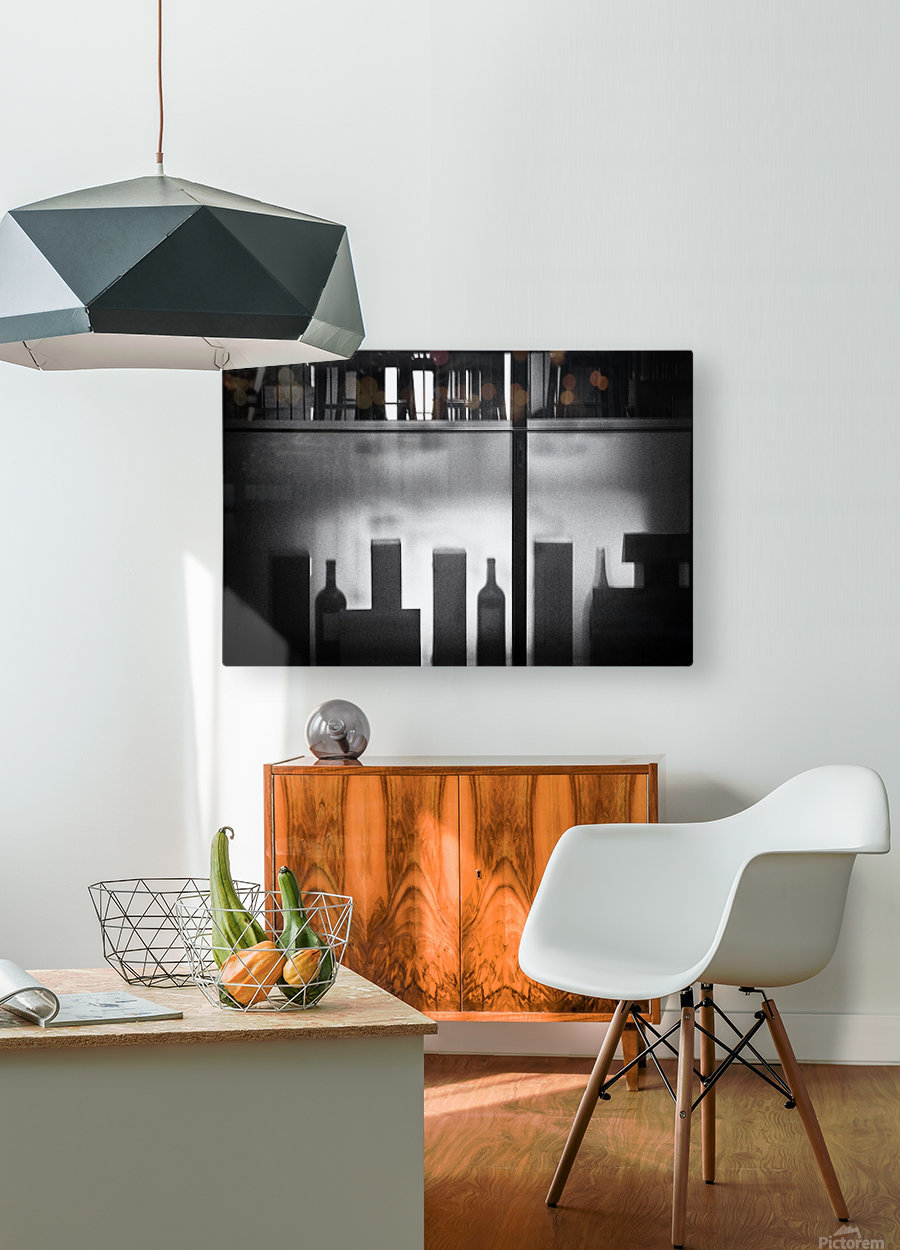 Insight  HD Metal print with Floating Frame on Back
