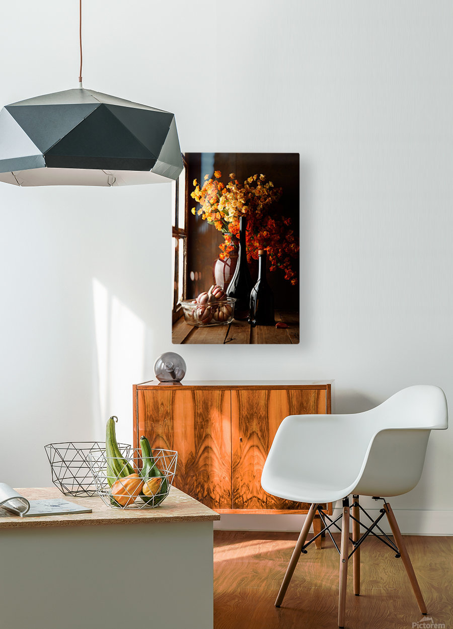 The Garlics  HD Metal print with Floating Frame on Back