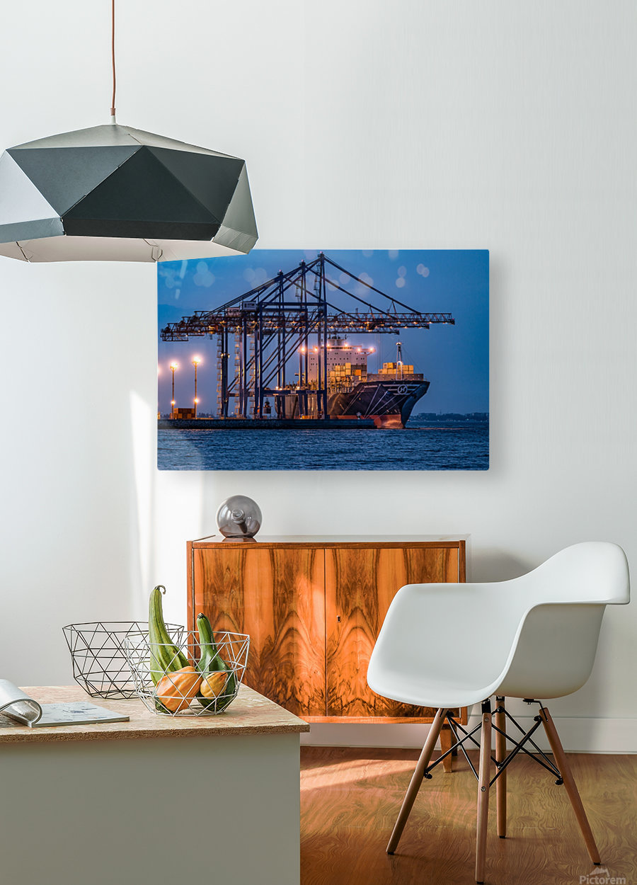 Tetris  HD Metal print with Floating Frame on Back